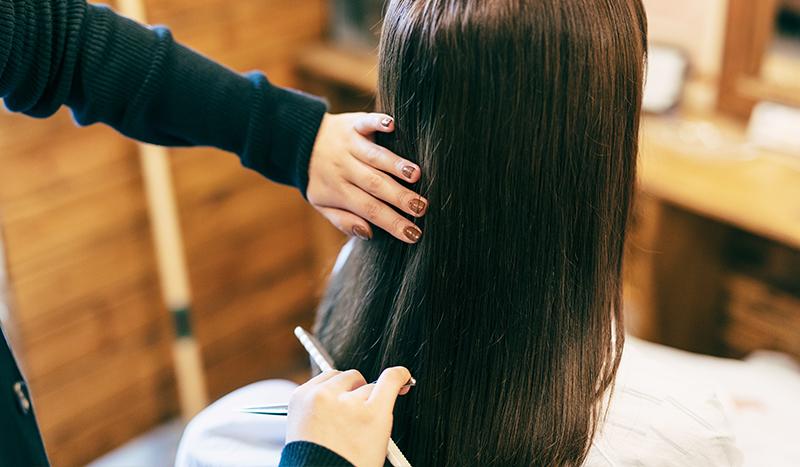 美髪メニュー特化型のホームページとしてリニューアル