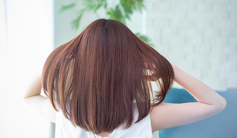 技術力を訴求するため、施術前後の髪の状態とその後の経過を写真で丁寧に紹介するキラーコンテンツを作成。