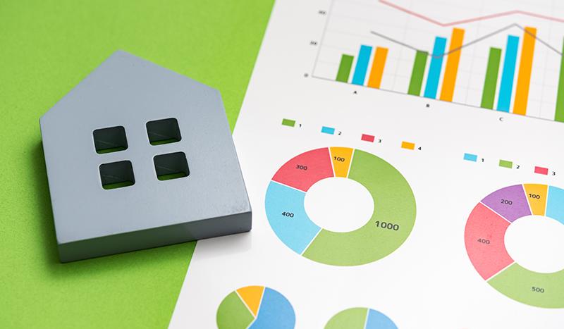 ハウスメーカー、設計事務所、工務店の診断チャートを設置