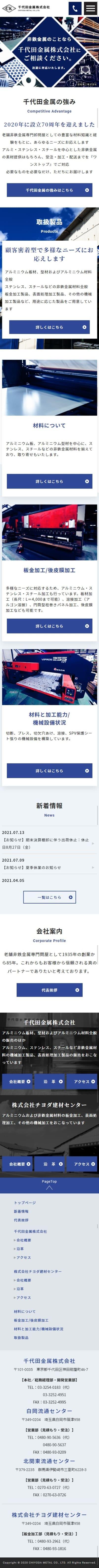 千代田金属株式会社